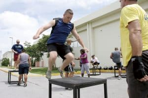 Plyometric exercises drastically improve your vertical leap
