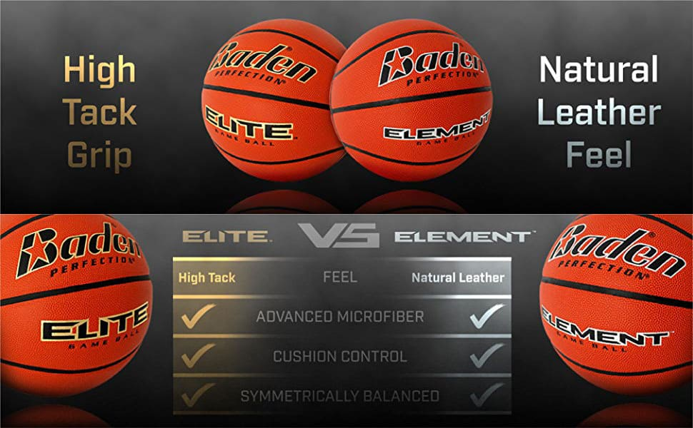 baden elite vs element basketball comparison