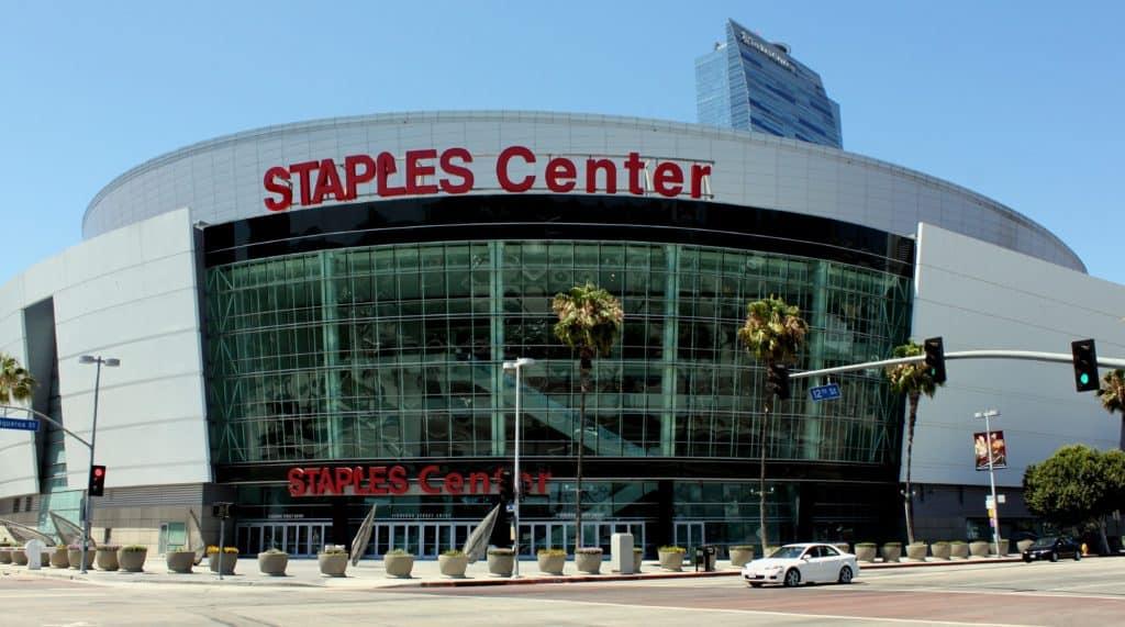 Staples Center in LA