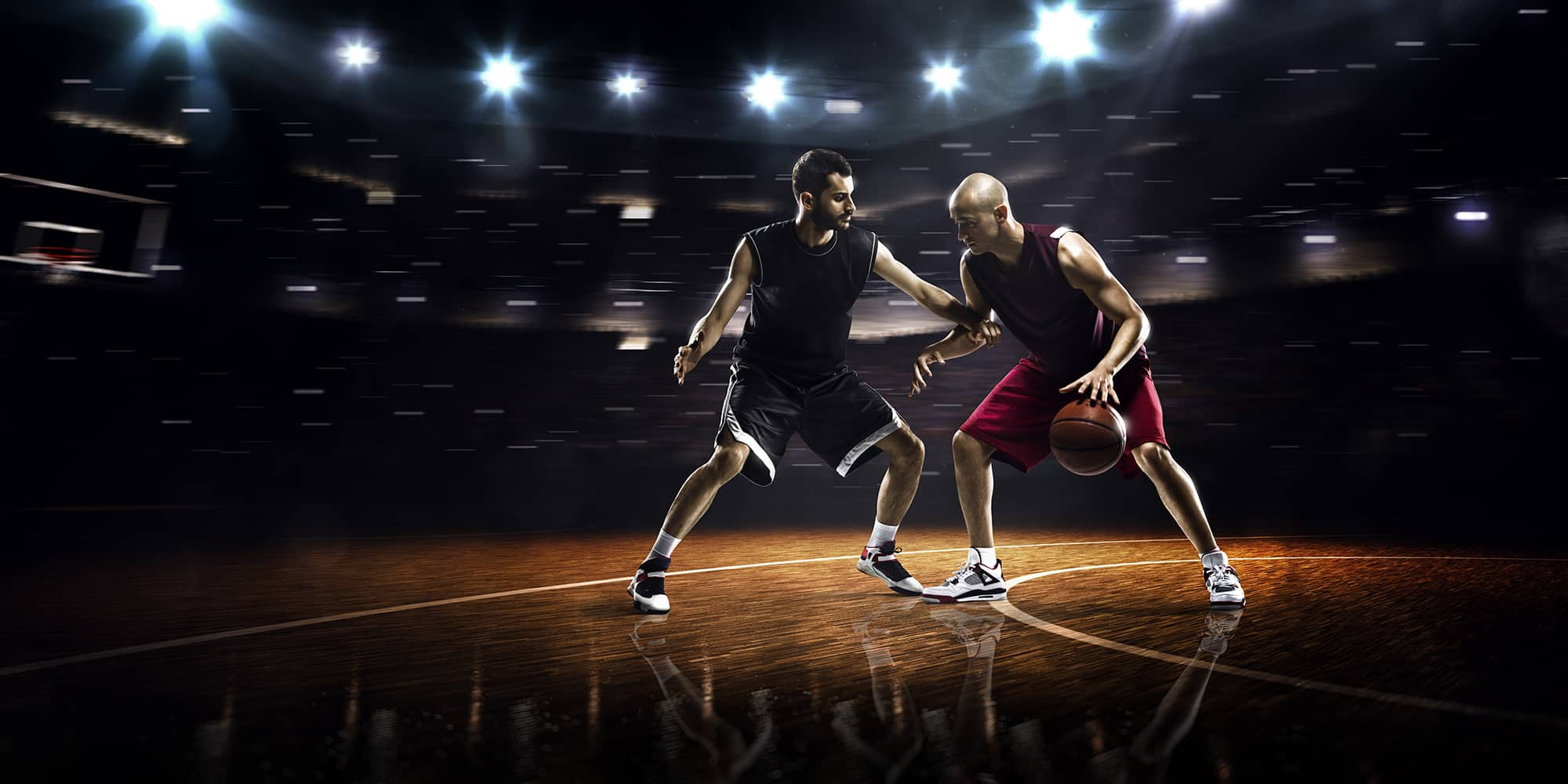isolation play situation in basketball